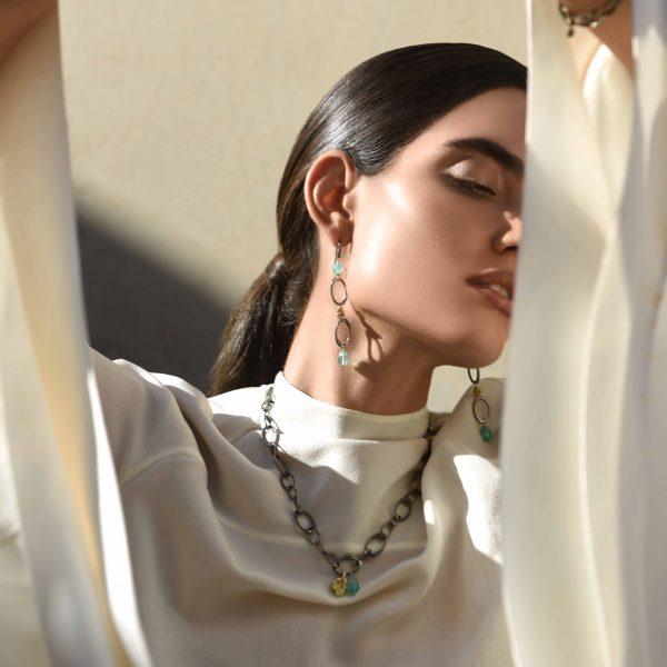 Sira Chain Earrings